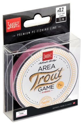 Area trout game braid